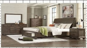 United Furniture - Eclipse Bed Set King Size - as shown with delivery - also Queen Size in Stuttgart, GE