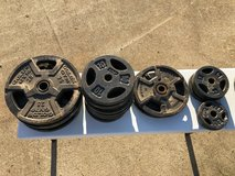 287.5 LBs of Weights & 2 Bars Price Firm See Details in Elizabethtown, Kentucky