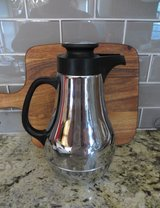 Chrome Insulated Coffee Tea Pot - LIKE NEW! in Naperville, Illinois