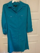 Turquoise Shirt Dress w 3/4 length sleeves in Fort Knox, Kentucky