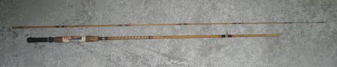 VINTAGE HEDDON MARK FISHING ROD - # 8255 - 8 1/2' - WET FLY ACTION - MADE IN USA in Joliet, Illinois
