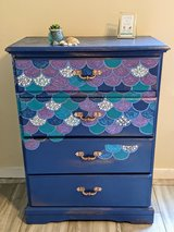 Hand Painted Mermaid Dresser in Fort Campbell, Kentucky
