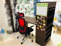 office desk and chair in Okinawa, Japan