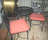 """24"""" ROUND MESH BISTRO TABLE & 2 MATCHING CHAIRS in Naperville, Illinois"""