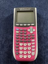 TI-84 Plus PINK Texas Instruments Graphing Calculator with Cover in Bolingbrook, Illinois