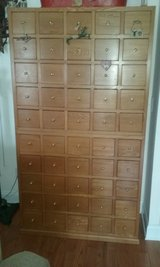 Apothecary chest for TV stand or for CD storage in Camp Lejeune, North Carolina