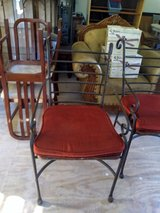 2  CHAIRS WITH CUSHIONS FOR SALE in Kingwood, Texas
