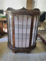 ANTIQUE CURIO CABINET FOR SALE in Kingwood, Texas