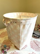Pottery Barn large canvas floor tote in Okinawa, Japan