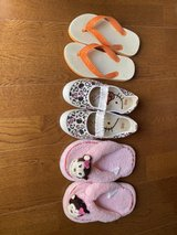 Lovely girl shoes in Okinawa, Japan