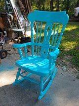 large heavy rocker. Great for a covered porch. Also have toddler rocker in Conroe, Texas