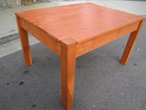 """Table, rustic, wooden, pine wood. 52"""" Long x 41"""" wide x 31"""" tall. in Camp Pendleton, California"""