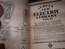 Set of 12 Audels Electric Library Books ( 1939) in Alamogordo, New Mexico