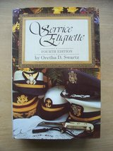 Book:  Service Etiquette (4th  Edition) in Ramstein, Germany