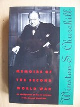 Book: Memoirs of the Second World War, Winston Churchill in Ramstein, Germany