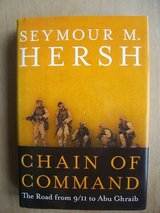 Book:  Change of Command, by Seymore Hersh in Ramstein, Germany