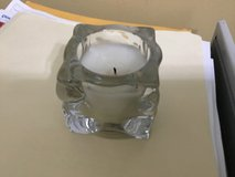Small Candle in glass container in Camp Lejeune, North Carolina