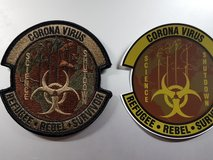 Morale Patch COVID in Ramstein, Germany
