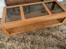 Glass Top Coffee Table REDUCED in Alamogordo, New Mexico