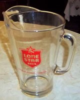 """Vintage glass  """"Lone Star beer"""" Pitcher in Alamogordo, New Mexico"""