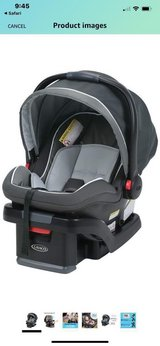 LIKE NEW Graco Snugride Quick Connect Infant Seat in Kingwood, Texas