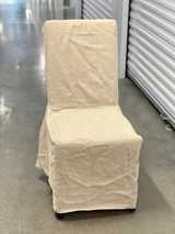 4x PIER ONE Dining Chairs with POTTERY BARN Covers in Bellaire, Texas