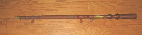 VINTAGE / ANTIQUE FISHING SPEAR - CARVED WOOD HANDLE - UNIQUE in Bolingbrook, Illinois