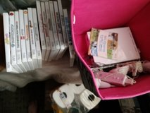 Wii system with 14+ games in Beaufort, South Carolina