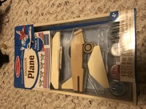 Melissa and Doug decorate your own wooden plane in St. Charles, Illinois