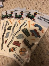 Train temporary tattoos-4 packs in St. Charles, Illinois