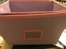 2 purple/pink bins-great for toys/books in St. Charles, Illinois