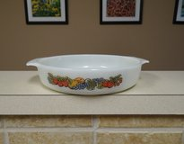 Fire-King round baking dish in Kingwood, Texas