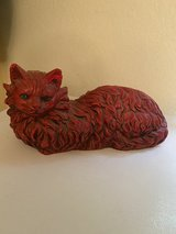 Vintage Red Chalk Cat REDUCED in Alamogordo, New Mexico