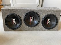 Car Subwoofers and Mono-Channel Amplifier in Cherry Point, North Carolina
