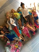 Barbies and some accessories in Alamogordo, New Mexico
