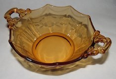 Cambridge Glass, Amber Bowl. in Fort Campbell, Kentucky