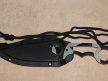 """MASTER USA CAMO NECK KNIFE 6.75"""" OVERALL in Naperville, Illinois"""