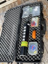 SCUBA Diving o2 kit and first aid kit in Okinawa, Japan