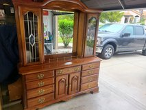 Dresser with Lighted Hutch in Camp Pendleton, California