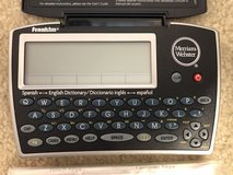 Franklin electronic English-Spanish dictionary in Naperville, Illinois