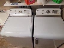 GE high efficiency washer and dryer in Alamogordo, New Mexico