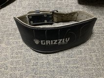 Grizzly Fitness power lifting belt in Okinawa, Japan