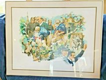 """University Of Notre Dame Football Watercolor Print # 219 / 500 Size: 33"""" x 25"""" WAYLAND MOORE in Naperville, Illinois"""