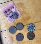 US Wheat cents Pennies Lot cent set in Okinawa, Japan