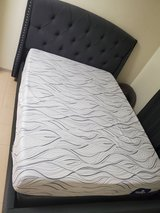 queen size bed and L couch in Okinawa, Japan
