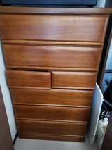solid wood chest dresser in Okinawa, Japan