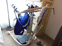 Invacare Get-U-Up Hydraulic Patient Lift W/Sling in Kingwood, Texas
