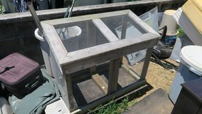 garbage ext contaner galvanised mech will not rust & will keep animal away 33''TX2'DX42''W in Okinawa, Japan