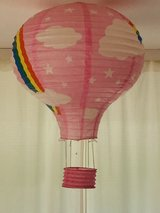 paper hot air balloons to hang from the ceiling in Stuttgart, GE