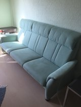 couch, recliner and bench, leather in Ramstein, Germany